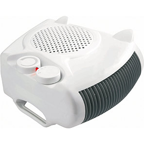 Igenix 2kW Flat/Upright Fan Heater