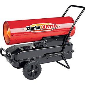 Clarke XR110 Diesel/Paraffin-Fired Space Heater