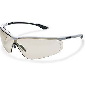 uvex Sportstyle Safety Glasses with Brown Lenses
