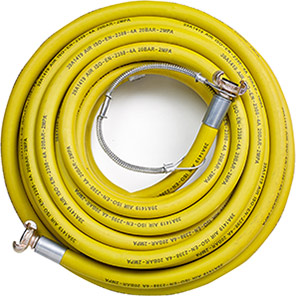 Rubber Air Compressor Hose Assembly with Whipcheck