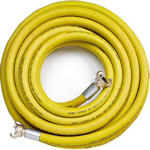 Rubber Air Compressor Hose Assembly with US Crimped Fittings