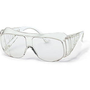 uvex 9161 Safety Overglasses with Clear Lenses