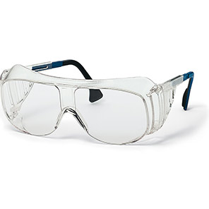 uvex 9161 Safety Overglasses with Clear Supravision Sapphire Lenses