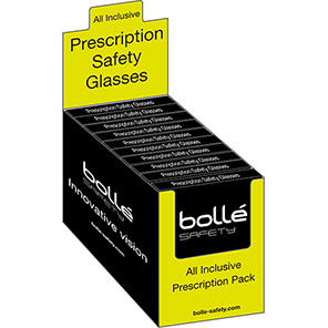 Bollé All-Inclusive Prescription Safety Glasses Pack