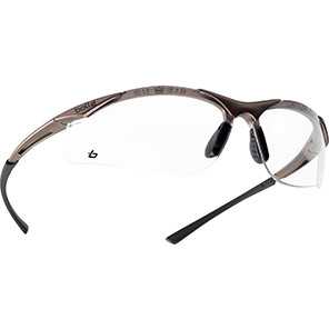 Bollé CONTOUR Safety Glasses with Clear Lenses