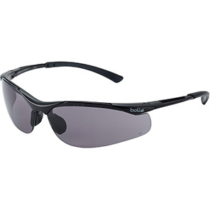 Bollé CONTOUR Safety Glasses with Grey Lenses