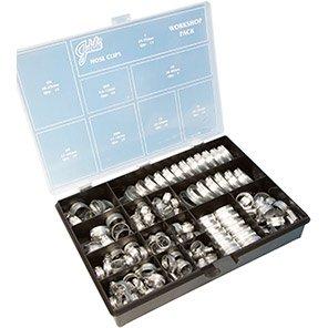 Jubilee Mild Steel Worm-Drive Clip Workshop Pack