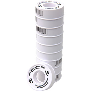 Buffalo PTFE Thread Seal Tape (Pack of 10)