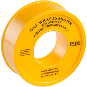 Ultratape Gas PTFE Thread Seal Tape 5m