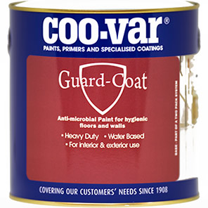 Coo-Var Guard-Coat Tile Red Antimicrobial Paint 5kg