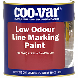 Coo-Var Yellow Line Marking Paint