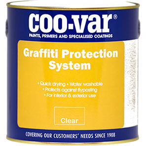 Coo-Var Graffiti Protection Clear Gloss Paint