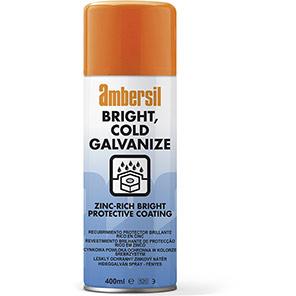 Ambersil Bright Cold Galvanise Protective Spray