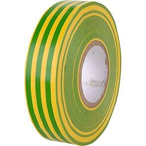 Buffalo Green/Yellow 19mm Electrical Insulation Tape 33m