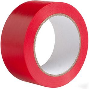 Arco Heavy-Duty PVC Red Line Marking Tape 33m