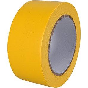 Arco Heavy-Duty PVC Yellow Line Marking Tape 33m