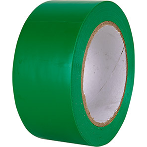 Arco Heavy-Duty PVC Green Line Marking Tape 33m