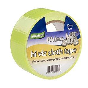 Ultratape Rhino Yellow Cloth Tape 20m
