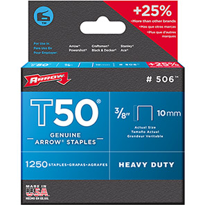 Arrow T50 6mm Staples (Pack of 5000)