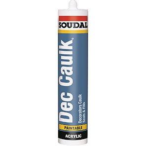 Soudal White Decorator's Caulk 300ml