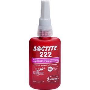 Loctite 222 Low-Strength Threadlocker 50ml