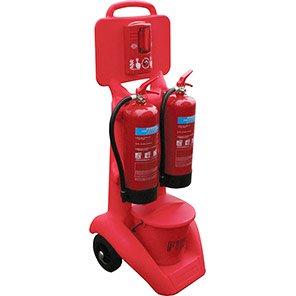 FireKart Fire Extinguisher Trolley