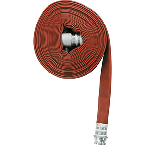 Red Type 3 Fire Hose Assembly 23m