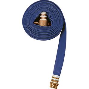 Blue PU-Coated Fire Hose Assembly 23m
