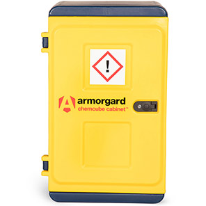 Armorgard Chemcube Cabinet Chemical Storage 515mm x 385mm x 900mm