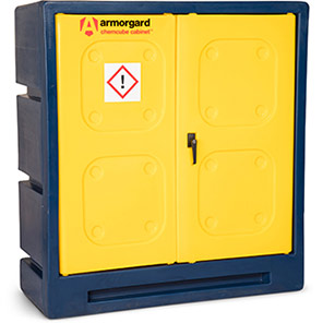 Armorgard Chemcube Cabinet Chemical Storage 1050mm x 450mm x 1050mm
