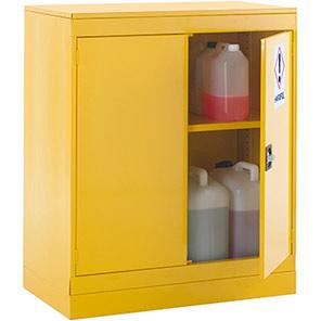 Link 51 One-Shelf Yellow Hazardous-Substance Storage Cabinet