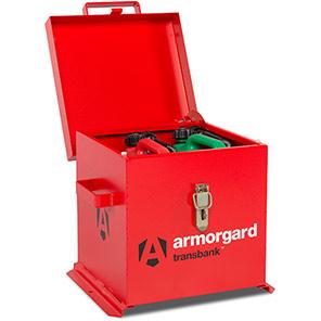 Armorgard TransBank Flammable-Substance Transit Box
