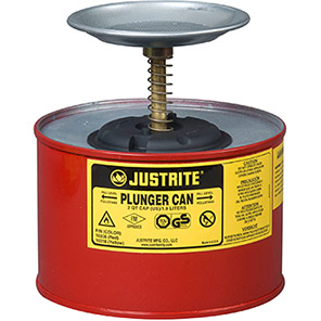 Justrite 127mm Plunger Can