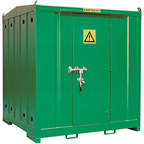 Empteezy Chemstor 2m Walk-In Bunded Chemical Storage Container