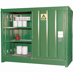 Empteezy Chemstor 80-Space Bunded Chemical Storage Container