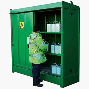 Empteezy Chemstor 48-Space Bunded Chemical Storage Container