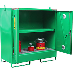 Empteezy Chemstor 20-Space Bunded Chemical Storage Container