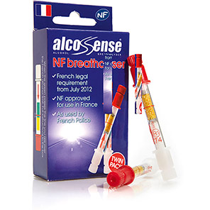AlcoSense NF Breathalyser (Pack of Two)
