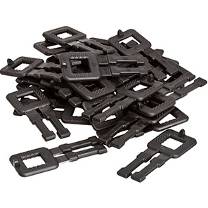 Packer Polypropylene Strapping Buckles (Box of 1000)