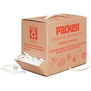 Packer Polypropylene Strap and Buckle Kit