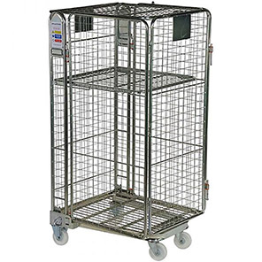 Palletower Full Security Netable Wheeled Storage Cage