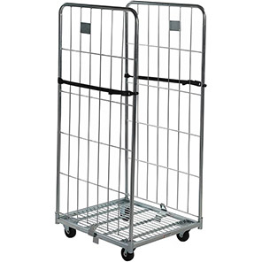 Palletower Two-Sided Collapsible Wheeled Storage Cage 1545mm