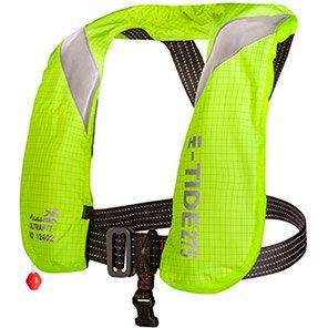 Mullion Hi-Tide Hi-Vis Yellow Flame-Retardant 275N Lifejacket