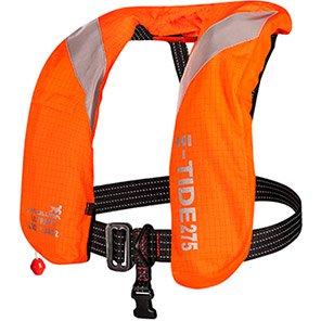 Mullion Hi-Tide Hi-Vis Orange Flame-Retardant 275N Lifejacket