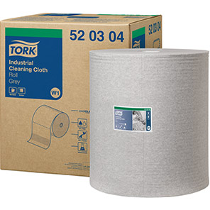 Tork Grey 361m Industrial Cleaning Cloth Roll