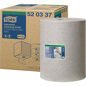 Tork Grey 148m Industrial Cleaning Cloth Roll