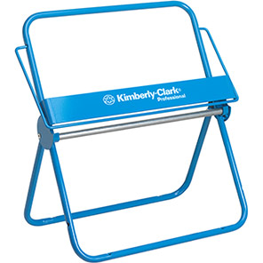 Kimberly-Clark Professional Blue Small Mobile Wipes Dispenser