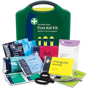 Reliance Medical British-Standard Aura Personal-Issue First Aid Kit