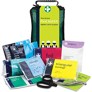 Reliance Medical British-Standard Helsinki Personal-Issue First Aid Kit