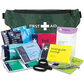 Reliance Medical British-Standard Riga Bumbag Personal-Issue First Aid Kit